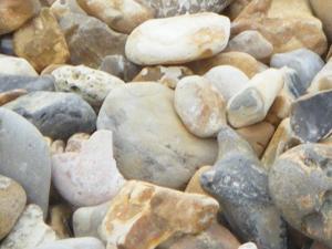 pebbles on Brighton beach