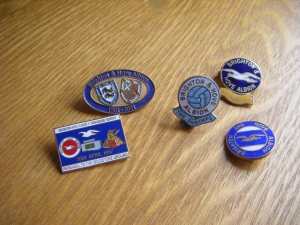 Brighton & Hove Albion pin badges