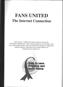 Fans United book