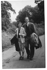 Enid and Gordon, late 1940s