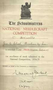 National Needlecraft competition