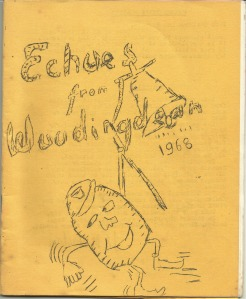 Front page of Echoes From Woodingdean 1968