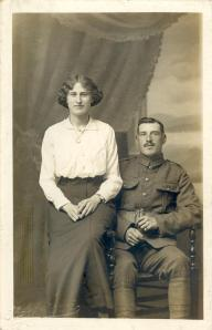 Gordon's parents, Joseph Taylor Dinnis and Annie Cleeve