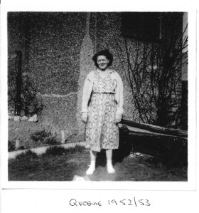 My grandmother, Queenie