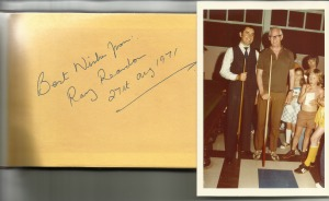 Dad and Ray Reardon