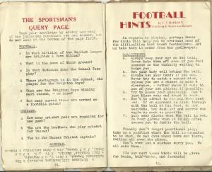 Football Hints
