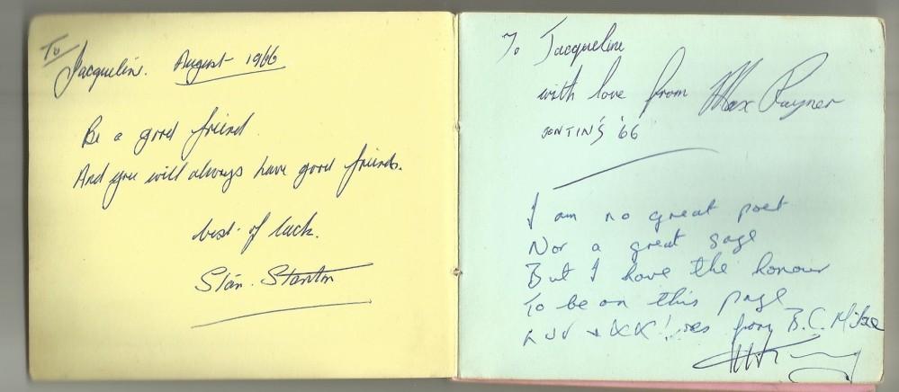 Pontins - Bluecoats & Autographs (2/4)