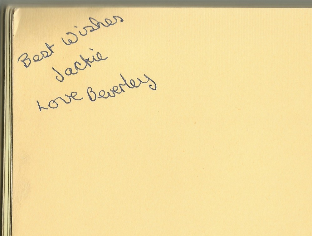 Autographs - messages from friends (1/5)