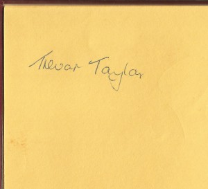Trevor Taylor