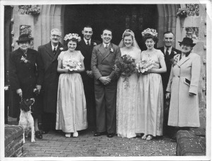 Mystery wedding photograph