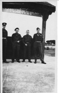 Gordon Dinnis at Anzio Beach Head War Cemetery