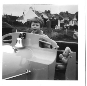 Early 1960s, here I am at Hove Lagoon