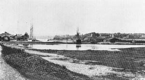 Site of Hove Lagoon 1908