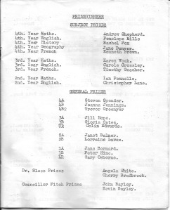 Page 5 List of prizewinners