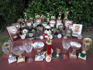 Alison's trophies