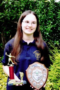 Sussex Girl Player of the Year 2004 - 2005 Alison Woodland