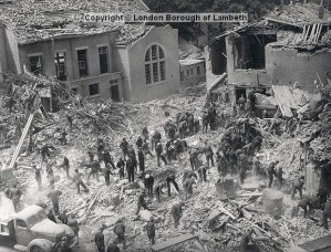 Photos courtesy of http://landmark.lambeth.gov.uk/default.asp via the website http://www.brixtonbuzz.com/2013/06/on-this-day-69-years-ago-acre-lane-brixton-hit-by-devastating-flying-bomb/