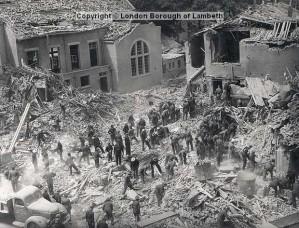 Photos courtesy of http://landmark.lambeth.gov.uk/default.asp via the website http://www.brixtonbuzz.com/2013/06/on-this-day-69-years-ago-acre-lane-brixton-hit-by-devastating-flying-bomb/