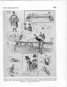 Table Tennis arrives 1901
