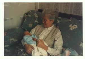 Mum with Jonny