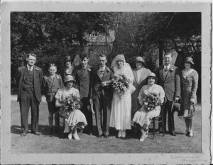 The wedding of Dora Doswell to Frederick Ashbolt
