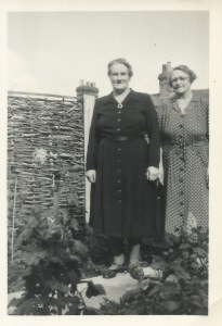 Rose (left) and Edith (right) 1951