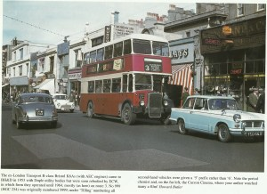 Western Road Brighton, from the book 'Steets of Brighton'.