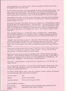 Biography page two