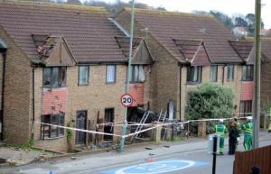 Portslade Car House crash 1