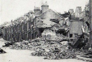 The bombing of White Street in 1940