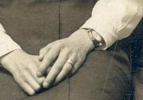 Annie Cleeve, close up of ring