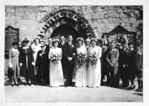 Gordon and Enid's wedding June 18 1949