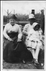 Caroline A Brown, Winifred Howells and Enid May Howells
