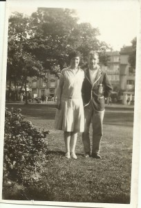 Dora Cleeve and Frederick Ashbolt Hassocks 17 August 1930