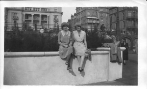 27 Sept 1931 Brighton Olive and Grace Cleeve