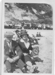 25 July 1925 Bournemouth Rose Cleeve and her husband Wilf Davis