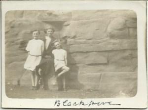A bit windy 1924