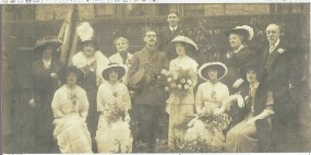 Wedding of Maud Beatrice Crocker and Arnold Carnegie Heron 20 October 1914