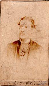 George Dinnis in 1890