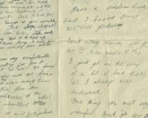 badly written letter