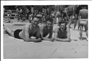 Aquila August 1 1946 Taken at the swimming pool during my 7 days leave