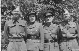 Left to Right: Gordon Charles Dinnis, Nancy Dora Dinnis, Joseph Taylor Dinnis and Ronald Stanley Dinnis