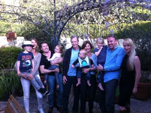 The Ashman family, Australia, with whom I share 2x great grandparents