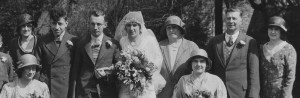 Wedding of Dora Doswell to Frederick Augustus Ashbolt 21 April 1932