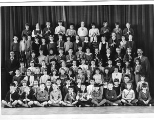 Woodingdean Primary School I am on the front row, second right