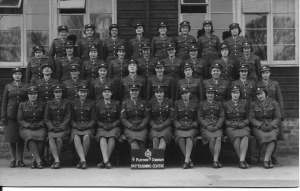 3 April 1942 4 Platoon B Company No 7 Training Centre Nancy on second row 4 from right