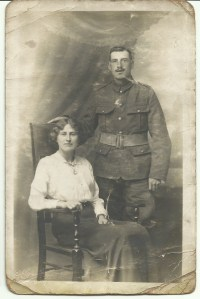 Joseph Taylor Dinnis and Annie Dinnis (Cleeve) 28 June 1916