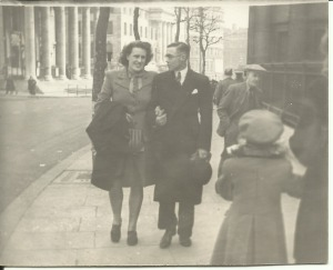 April 1947 Bert and Nancy St Martins, London