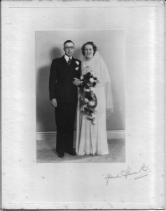 26 April 1947 Bert and Nancy Arkell