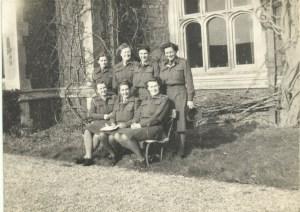 February 1946 Nancy front row far right